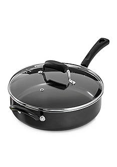 Cooks Tools™ 11-in. Non-Stick Aluminum Jumbo Cooker with Lid