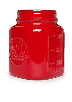 Cooks Tools™ Ceramic Jar Utensil Crock - Red