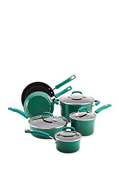 Rachael Ray 10-Piece Nonstick Aluminum Cookware Set