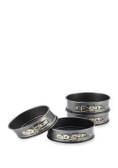 Cake Boss™ 4-pc. Nonstick Steel Mini Springform Pan Set