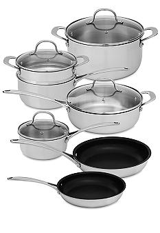 Biltmore For Your Home Tri Ply 11-piece Cookware Set