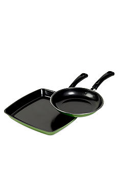 Cooks Tools Non-stick Fry Pan and Griddle Set