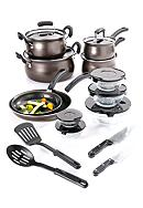 Cooks Tools™ 19-piece Carbon Steel Cookware Set - Bronze