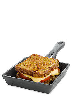 Cooks Tools Square mini cast iron pan