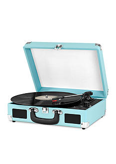 Innovative Technology Suitcase Turntable - Turquoise