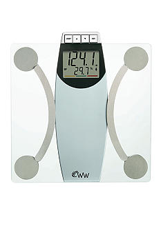 Conair Weight Watchers Glass Body Analysis Scale #WW67T