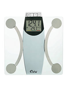 Weight Watchers Glass Body Analysis Scale #WW67T