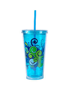 Cool Gear Blue Print Chiller 24-oz. Tumbler - Online Only