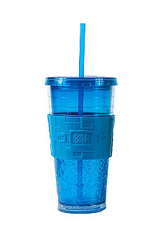 Cool Gear Blue Gel Banded Chiller 24 oz Tumbler - Online Only