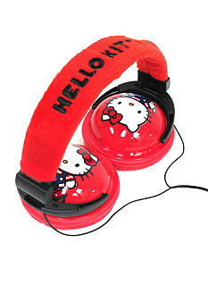 Hello Kitty by Sanrio Plush Headphones