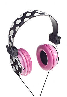 Vivitar iNeeda Headphones Polka Dot with Pink