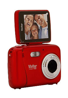 Vivitar ViviCam T022 iTwist Red Camera - Online Only