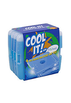 Cool Coolers Ice Packs Set Of 4