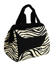 Downtown Zebra Lunch Bag - Online Only