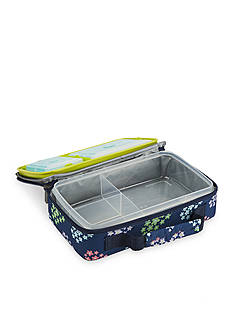 Fit & Fresh Bento Lunch Box Container Set with Insulated Carrier and Reusable Ice Packs