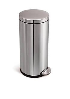 simplehuman 30 Liter Round Can