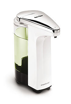 Simplehuman White Compact Sensor Pump with Soap Sample