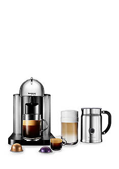 Nespresso VertuoLine Bundle With Aeroccino - Chrome AGCA1USCHNE