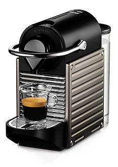 Nespresso Pixie Espresso Machine - Electric Titanium C60USTINE