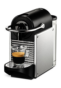 Nespresso Pixie Espresso Machine - Electric Aluminum D60USALNE
