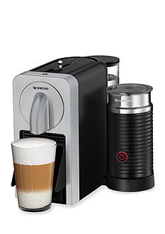 Nespresso Prodigio with Aeroccino Milk Frother - Silver