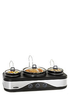 Bella Triple Slow Cooker 13666
