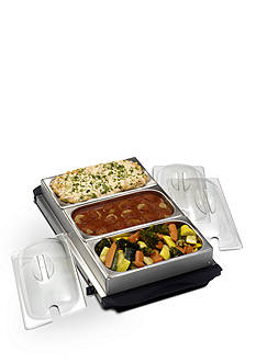 Nostalgia Electrics Station Buffet Server with Warming Tray BCD992 - Online Only<br>