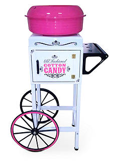 Nostalgia Electrics Vintage Collection Old Fashioned Cotton Candy Cart CCM510 - Online Only<br>