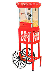 Nostalgia Electrics 48-in. Old Fashioned Movie Time Popcorn Cart CCP399