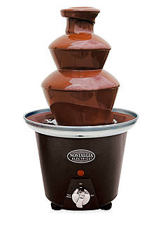 Nostalgia Electrics Mini Chocolate Fondue Fountain CFF965