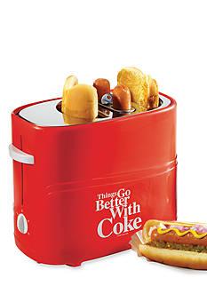 Nostalgia Electrics Coca-Cola Series Pop-Up Hot Dog Toaster HDT600COKE - Online Only