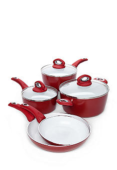 Bialetti Aeternum 8pc Red Set