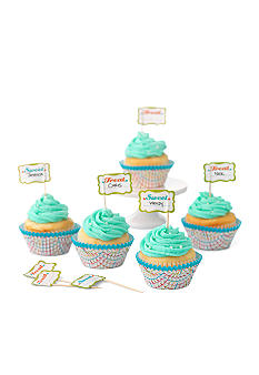 Sweet Creations by Good Cook 24-count Stripes Cupcake Papers & Toppers