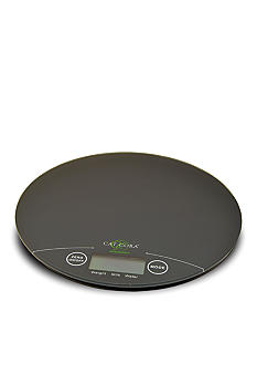 Cat Cora Round Digital Kitchen Scale - Online Only