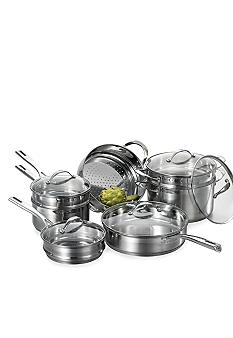 Cat Cora Stackable Stainless Steel 12-piece Set - Online Only