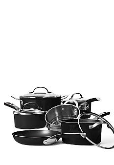 Cat Cora 10 Piece Non-Stick Set - Black
