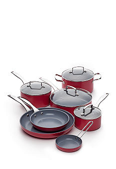 Fiesta Scarlet 11pc Aluminum Cookware Set - Online Only