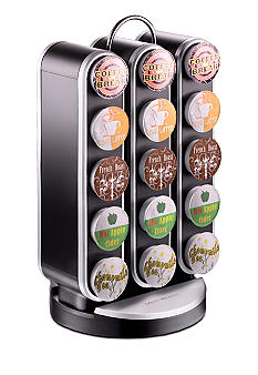 MindReader K-Cup Vortex 30 Capacity Carousel - Black
