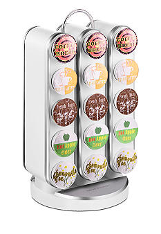 MindReader K-Cup Vortex 30 Capacity Carousel - White