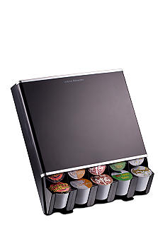 MindReader K-Cup Free Fall 30 Capacity Dispenser - Black<br>