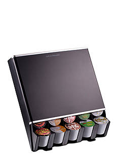 MindReader K-Cup Free Fall 30 Capacity Dispenser - Black