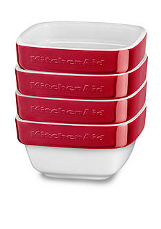 KitchenAid 4-Piece Stacking Ceramic Ramekin Set KBLR04RM