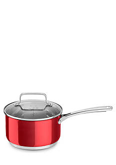 KitchenAid 3-qt. Stainless Steel Saucepan with Lid KC2S30PLPC
