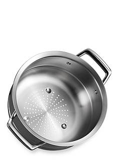 Tramontina Gourmet Prima Stainless Steel Tri-Ply Steamer Insert for 3-qt. and 4-qt. Saucepan - Online Only