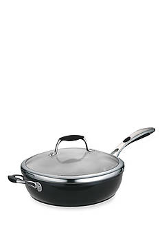 Tramontina Gourmet Ceramica 11-in. Metallic Black Deep Covered Skillet - Online Only