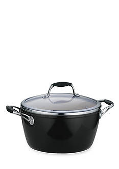 Tramontina Gourmet 5-qt. Metallic Black Ceramica 01 Deluxe Covered Dutch Oven - Online Only