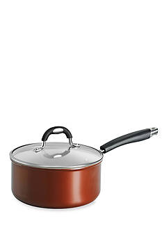 Tramontina Style 3-qt. Metallic Copper Ceramica 01 Covered Saucepan
