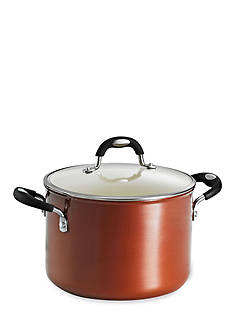 Tramontina Style 6-qt. Metallic Copper Ceramica 01 Covered Sauce Pot - Online Only