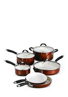 10-Piece Tramontina Style Ceramica Cookware Set