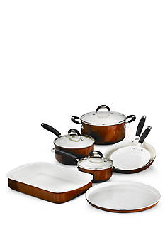 10-Piece Tramontina Style Ceramica Cookware / Bakeware Set
